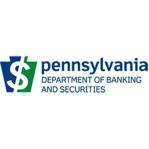 Provided by the PA Department of Banking and Securities